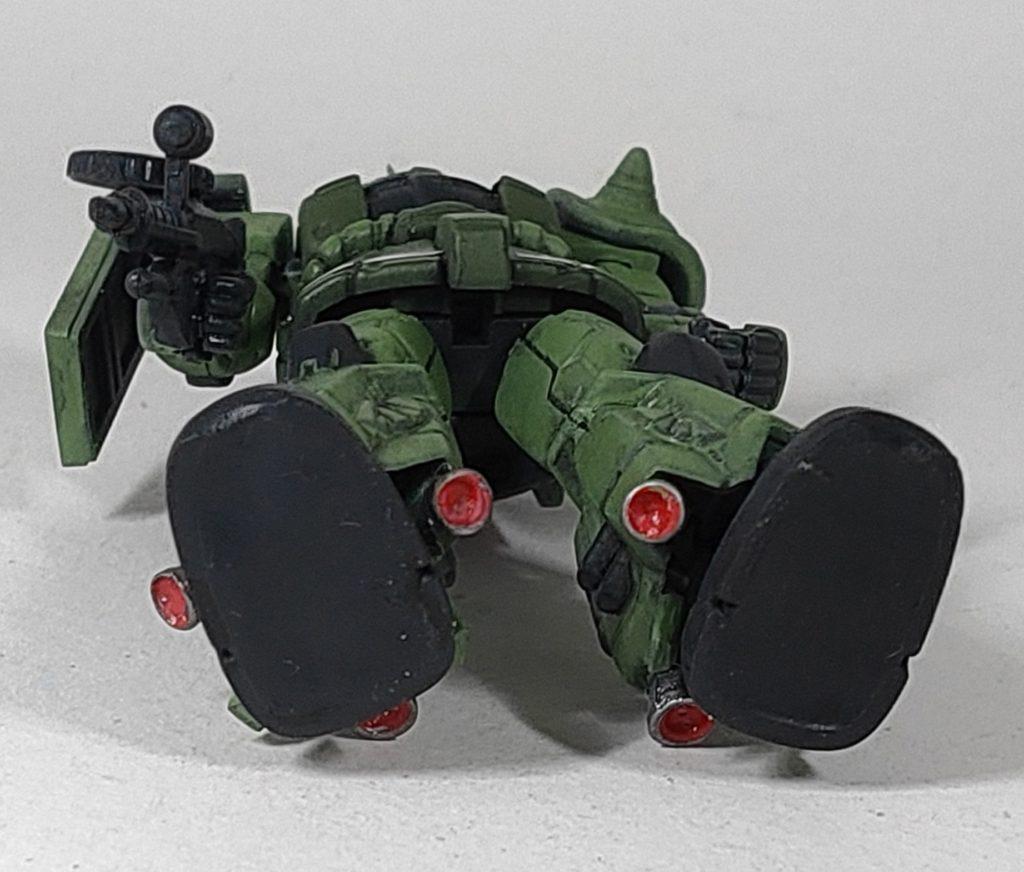 ガシャプラ 高機動型ザクⅡ