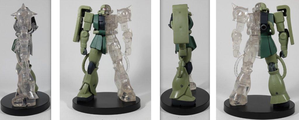 INTERNAL STRUCTURE MS-06F ザクⅡ